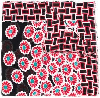 Diane von Furstenberg Blossom print scarf