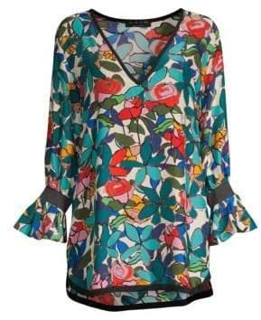 Shan Mosaic Clara Silk Tunic