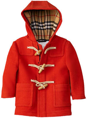 Burberry Mini Brogan Wool Coat