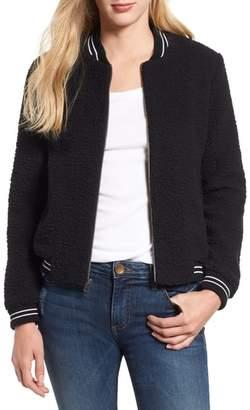 Lucky Brand Anaelisa Fleece Bomber Jacket