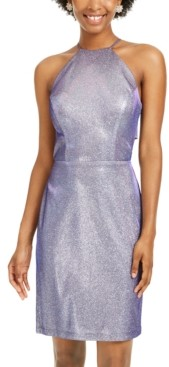 Morgan & Company Juniors' Glitter Bodycon Dress