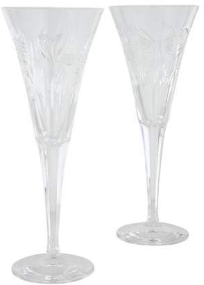 Waterford Pair of Millennium 5 Universal Toasting Flutes