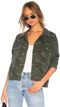 Sundry Double Pocket Shirt Jacket