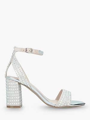 8350d1a7e1a at John Lewis and Partners · Carvela Kianni Stud Jewelled Block Heel Sandals