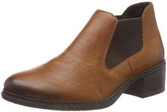 ... Rieker Women s 57690 Chelsea Boots, (Cayenne Brown 24) eddf543599