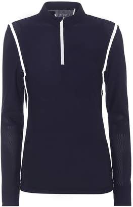 Tory Sport Hi-Vis quarter-zip sweater