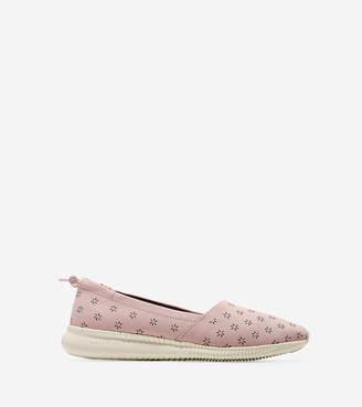 Cole Haan StudiøGrand Perforated Slip On Sneaker