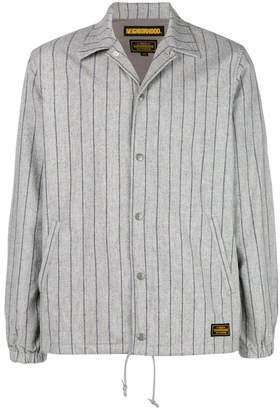 Neighborhood striped button jacket