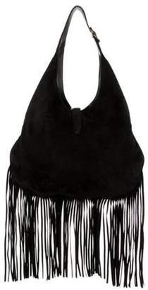 Gucci Large New Jackie Nouveau Fringe Bag Black Large New Jackie Nouveau Fringe Bag