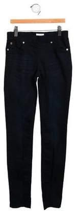 Hudson Girls' Mid-Rise Skinny Jeans