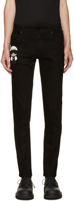 Fendi Black Karlito Jeans $850 thestylecure.com