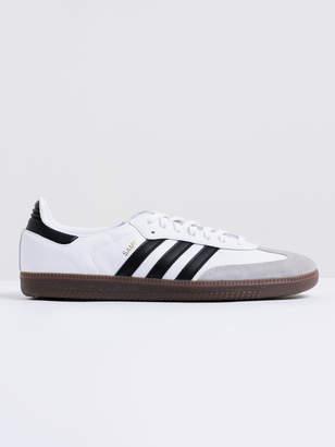 adidas Unisex Samba OG FTW Sneakers in White Black