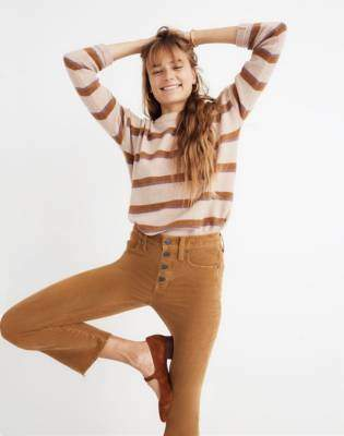 Madewell Tall Cali Demi-Boot Jeans: Corduroy Edition