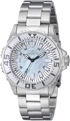 Invicta Women's 17696 Pro Diver Analog Display Swiss Quartz Silver Watch