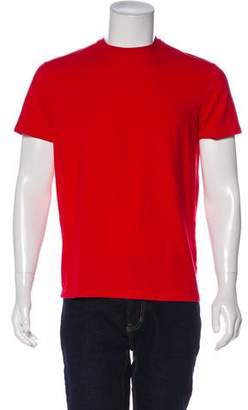 DSQUARED2 Woven Logo-Embroidered T-Shirt