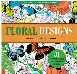 Peter Pauper Press Studio Series Floral Designs Coloring Book