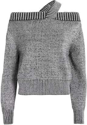 RtA Beckett Off Shoulder Sweater