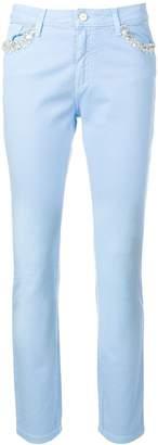 Blugirl embellished pocket jeans