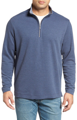 Tommy Bahama Marina Quarter Zip Pullover $148 thestylecure.com