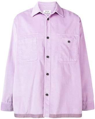 Acne Studios loose fit corduroy shirt