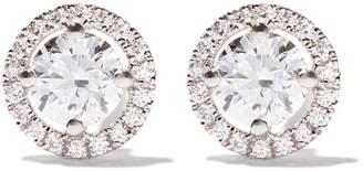 De Beers 18kt white gold My First Aura diamond stud earrings