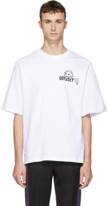 McQ White Rave Monster Big T-Shirt