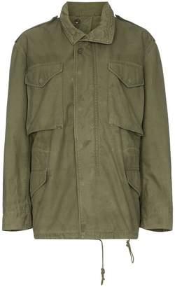 R 13 grateful dead-embroidered field jacket
