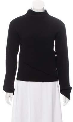 J.W.Anderson Rib Knit Plisse Sweater