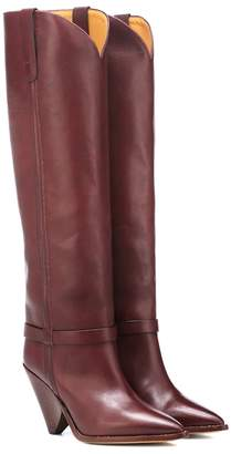 Isabel Marant Exclusive to Mytheresa Lenskee leather boots