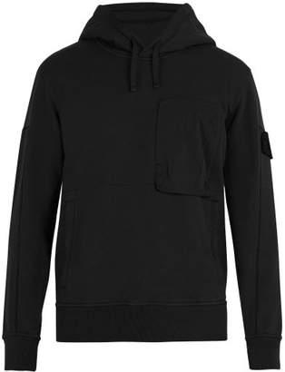 Stone Island Shadow Project - Shadow Project Hooded Sweatshirt - Mens - Black