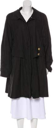 Jean Louis Scherrer Jean-Louis Scherrer Collar Knee-Length Coat