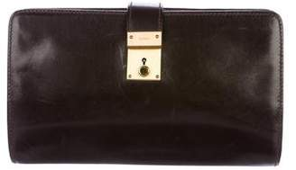 Gucci Vintage Leather Clutch