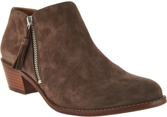 Vionic Suede Ankle Boots - Serena