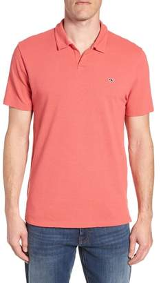 Vineyard Vines Solid Linen & Cotton Polo
