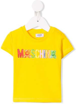 Moschino Kids logo printed T-shirt