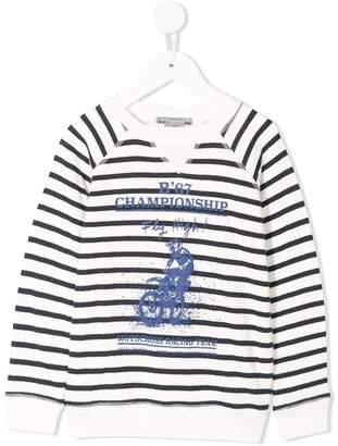 Bonpoint motocross print sweatshirt