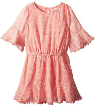 Ella Moss Flounce Chiffon Dress Girl's Dress
