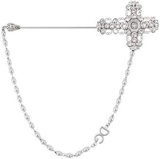 Dolce & Gabbana cross brooch pin