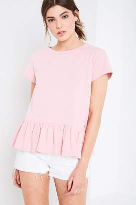 Jack Wills Earlsden Frill Hem T-Shirt