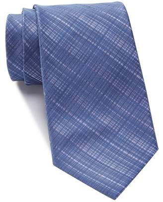 Kenneth Cole Reaction Hidden Grid Solid Tie