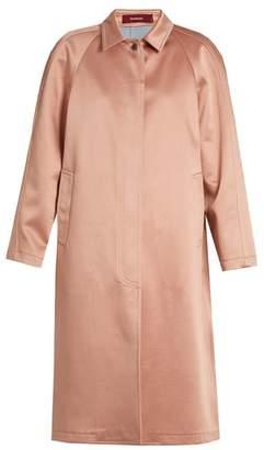 Sies Marjan - Ghotus Bonded Satin Coat - Womens - Light Pink