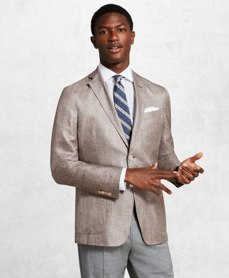 Brooks Brothers Golden Fleece BrooksCloud Beige Sport Coat