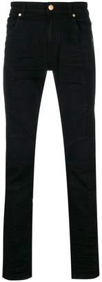 Pierre Balmain slim-fit biker jeans