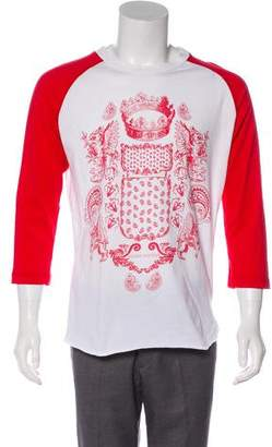 Pierre Balmain Graphic Print T-Shirt