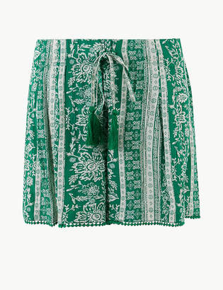 Marks and Spencer Printed Casual Shorts
