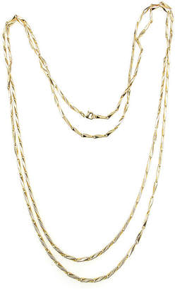 Bold Elements Brass Link Chain Necklace