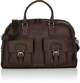Barneys New York MEN'S LEATHER DUFFEL BAG