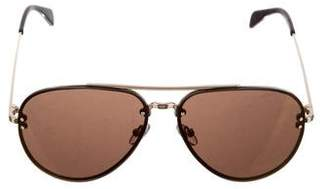 Celine Aviator Mirrored Sunglasses w/ Tags