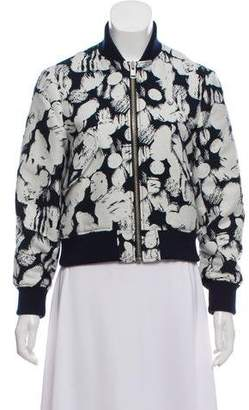MAISON KITSUNÉ Patterned Bomber Jacket