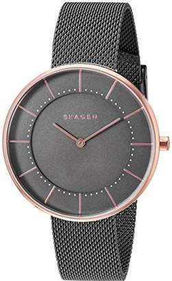 Skagen Women's SKW2584 Gitte Grey Mesh Watch